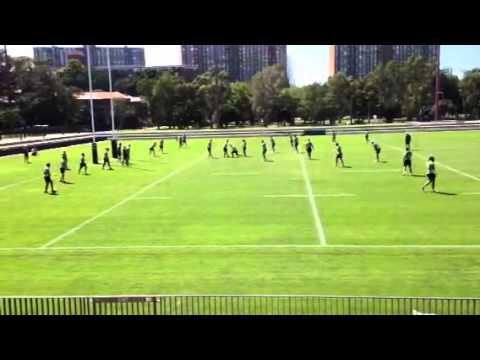 South Sydney Rabbitohs Training