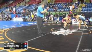 Gambar cover 132 Cons. Round 1 - Aaron Blanchard (Oregon) vs. Gresh Jones (Montana)