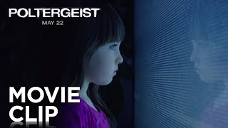 They're coming. Watch a brand new clip from Poltergeist now. POLTER...