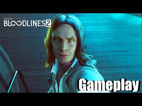 Vampire The Masquerade Bloodlines 2 Gameplay Walkthrough Part 1 Demo HD/PS5/Xbox Series X/PC/2021