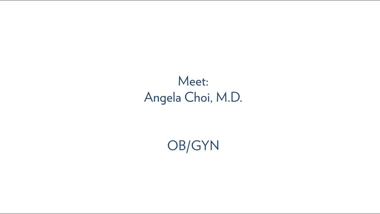 Angela Choi, M D , OB/GYN - MUSC Health