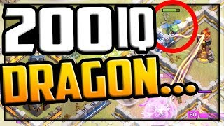 200 IQ DRAGON and HEARTBREAK - Clash of Clans Clan War Leagues Day 6
