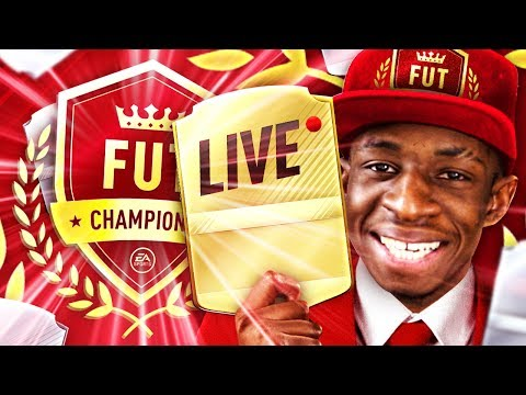 LIVE FUTCHAMPS - WEEKEND LEAGUE QUALIFYING!!!