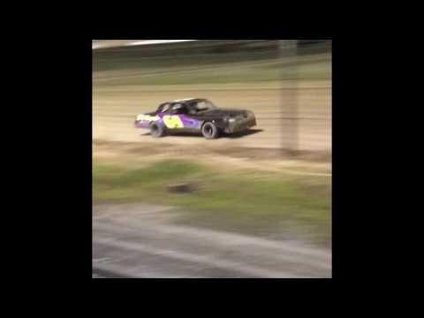 TJ Millman 2nd place street stock debut at Delaware International Speedway