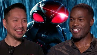 Aquaman's Yahya Abdul Mateen II on Black Manta, learning to swim and poking Jason Momoa