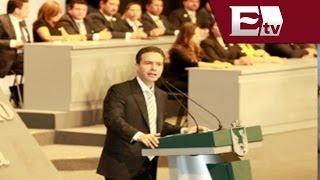 Manuel Velasco Coello presentó su primer Informe de Gobierno, Chiapas / Mariana y Kimberly
