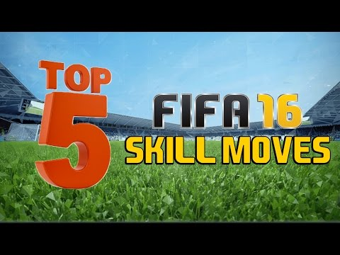 TOP 5 SKILL MOVES IN FIFA 16!!