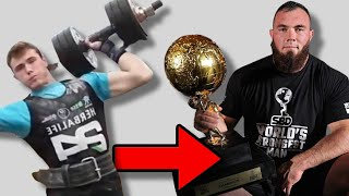 The Incredible Rise of The World's Strongest Man Oleksii Novikov