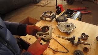Мотор SUBARU, разлетелся шатун, провернуло вкладыши