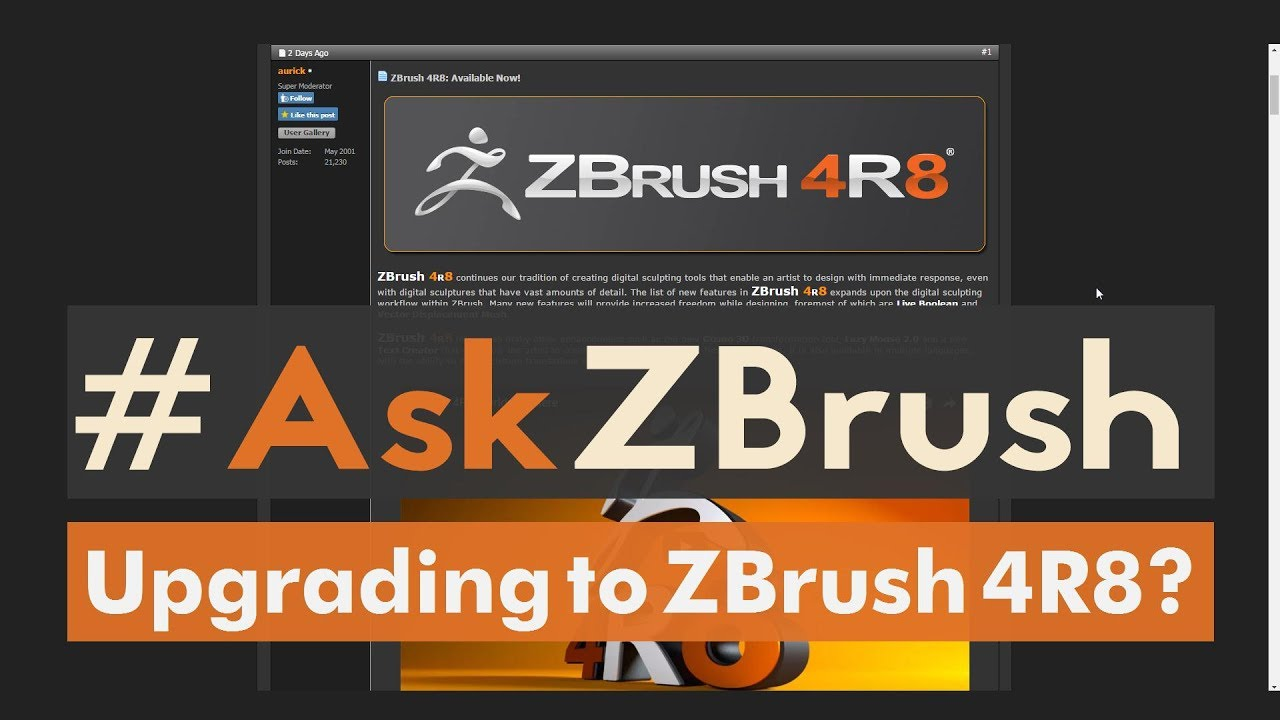 which ZBrush 4R8 version to buy?