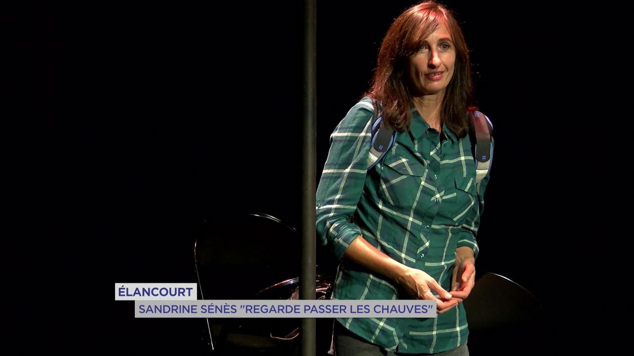 """Elancourt : Sandrine Senes """"regarde passer les chauves"""""""