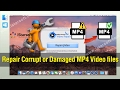 MP4 Repair - How to Repair Corrupt or Damaged MP4 Video files