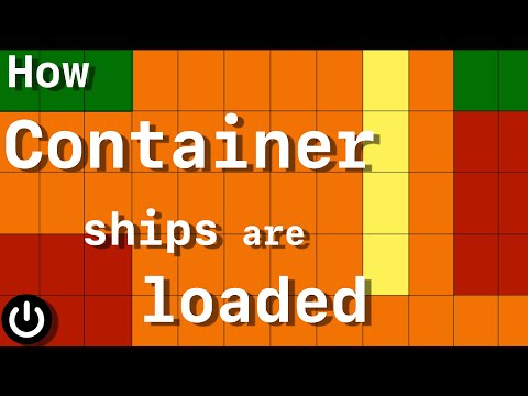 How Container Ships Are Loaded so Fast
