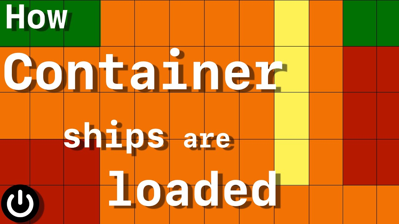 Download How Container Ships Are Loaded so Fast