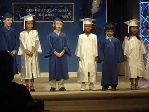 Jacksonville Adventist Academy Kindergarten graduation 4