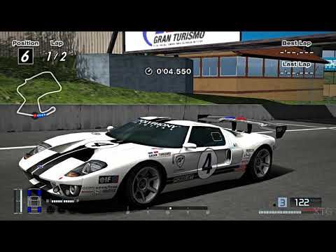 [#1573] Gran Turismo 4 - Ford GT LM Race Car Spec II '04 PS2 Gameplay HD