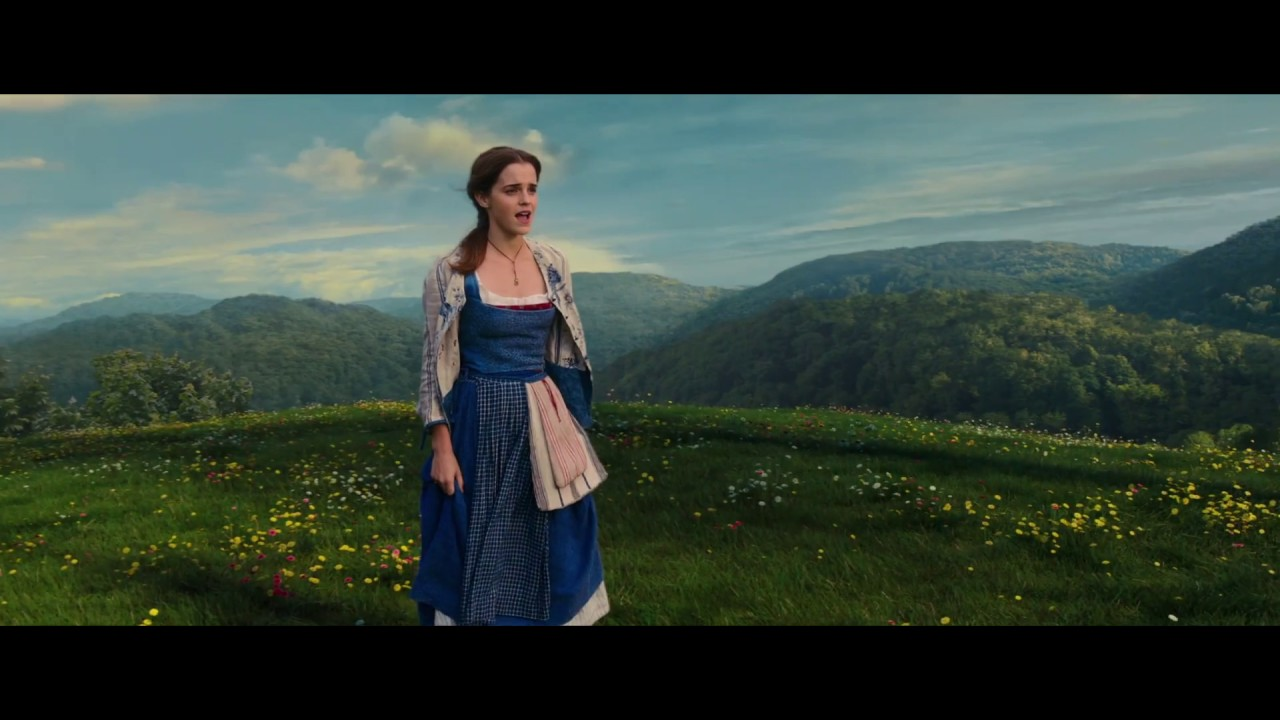 Beauty And The Beast Emma Watson Singing Belle Reprise Golden