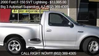 2000 Ford F-150 SVT Lightning Base 2dr Supercharged Standard