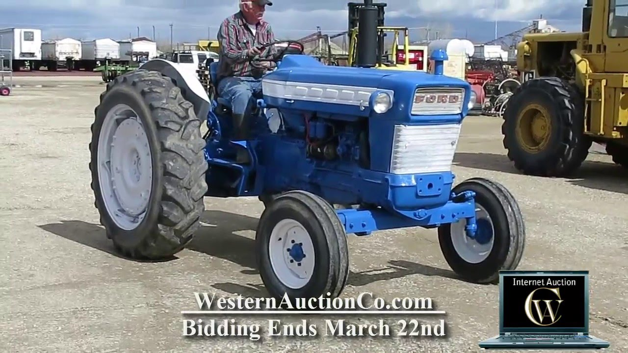 Ford 5000 Tractor For Sale At Auction!
