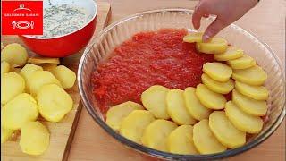 Patates Hiç Bu Kadar Lezzetli Olmamıştı Birde Bu Şekilde Deneyin Patatesin En EFSANE PATATES BOMBASI