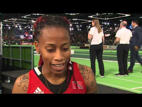 IAAF WIC Portland 2016 - Michelle Lee AHYE TTO 60m Women FINAL