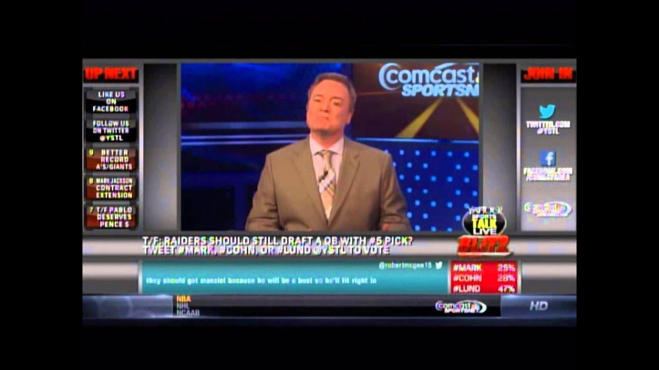 John Lund Sports Talk LIVe 3/2014