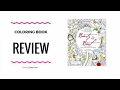 Beauty and the Beast  Coloring Book Review - Fabiana Attansio