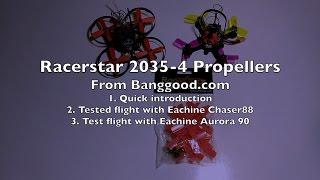 Racerstar 2035-4 Propellers