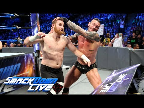 Randy Orton vs. Sami Zayn: SmackDown LIVE, Dec. 5, 2017