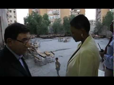 ERC Valerie Amos in Syria