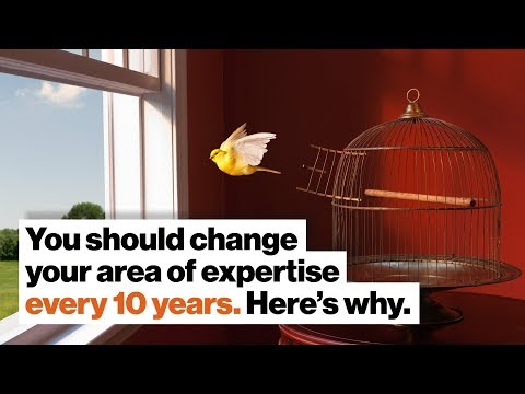 You Should Change Your Area Of Expertise Every 10 Years. Here's Why.   Lee Smolin