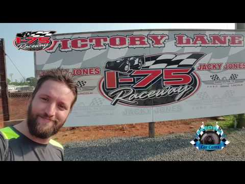 #28 Bobby Doss - Sportsman Late Model - 4-28-17 I-75 Raceway - In-Car Camera