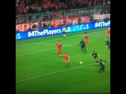 When Evra destroyed Bayern's Net!