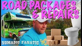 Receiving Packages, Repairs, & Upgrades