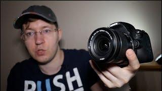 Canon 650D ультрабюджетная камера для студентов (фото и видео)