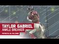 Taylor Gabriel Ankle Breaking Big Catch! | Patriots vs. Falcons | Super Bowl LI Highlights