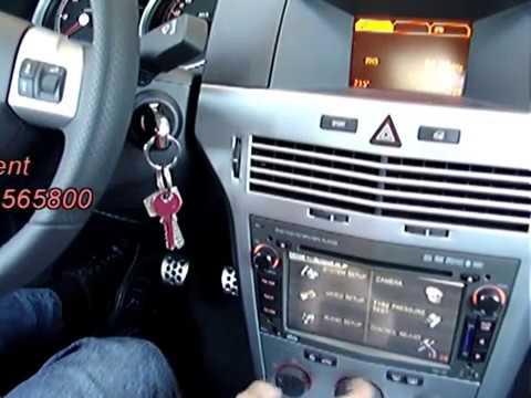 Dss opel control volante y display