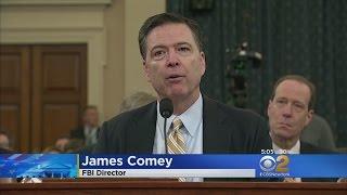Comey Confirms Russia Investigation