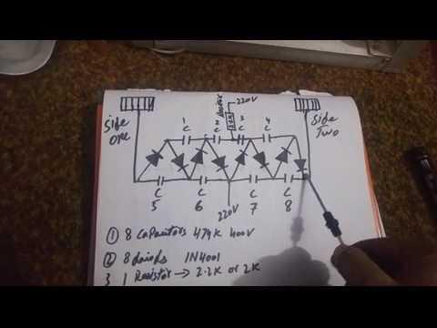 insect killer circuit diagram 1 - YouTube