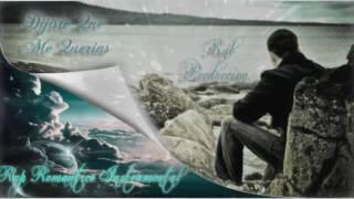 Dijiste Que Me Querias Rap Romantico Instrumental | Rnb Produccion