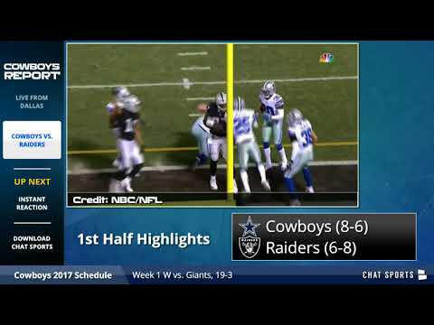 Dallas Cowboys vs. Oakland Raiders Highlights, Instant Analysis And Playoff Picture