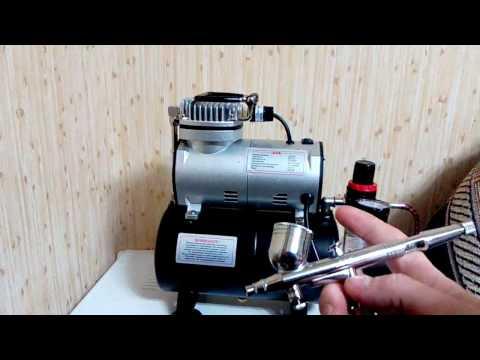 Работа компрессора Jas 1203