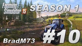 Farming Simulator 15 - Season 1 - Episode 10 - Back to the fields!!