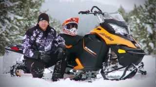 TEST RIDE: 2013 Ski-Doo 800R Summit SP 154