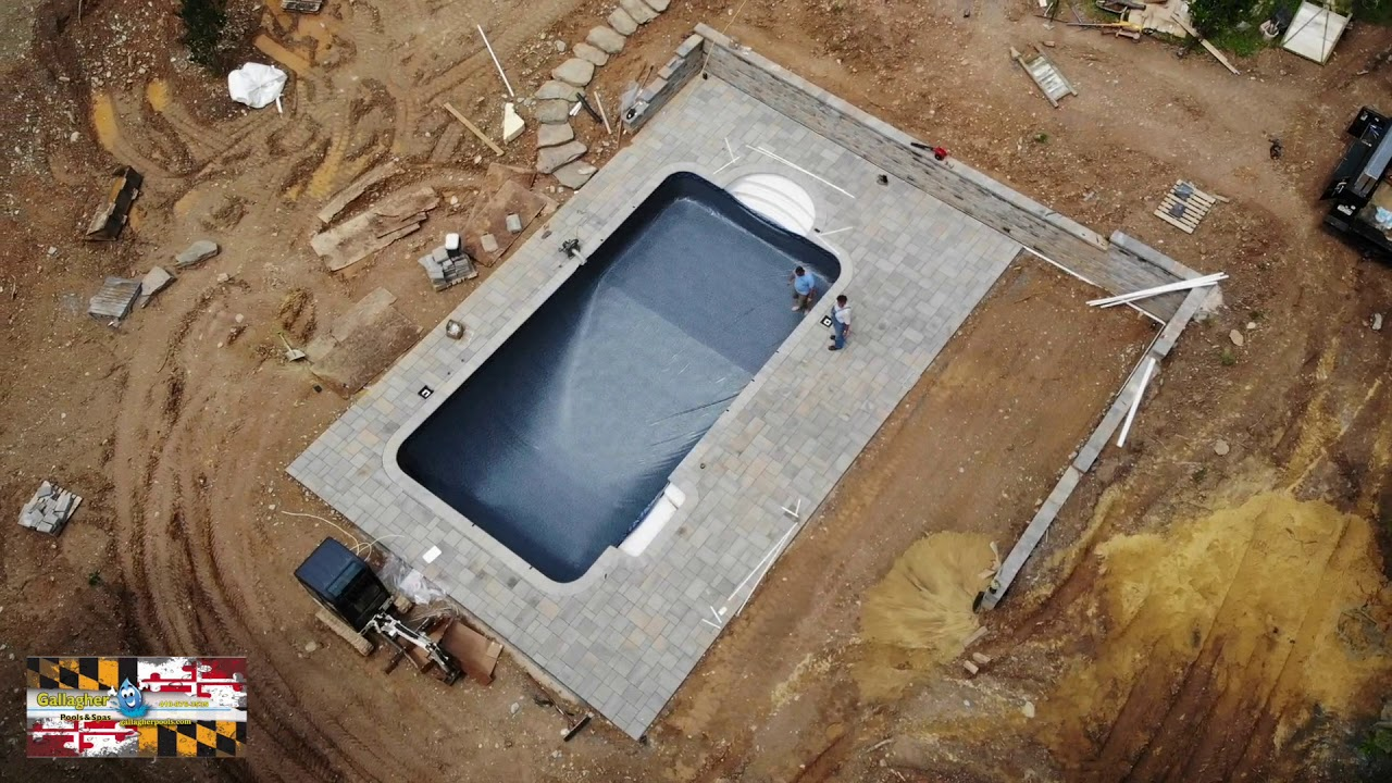 Gallagher Pools And Spas 2018 Inground Build