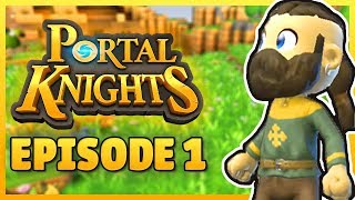 MINECRAFT 2 FOR MOBILE?! | Portal Knights Gameplay Ep 1