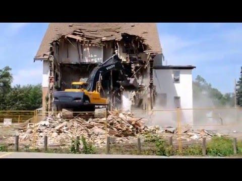 Bradbrooke House Demolition