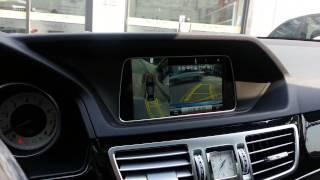 Benz E350 순정 어라운드 뷰 시스템.