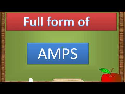 Full form of AMPS