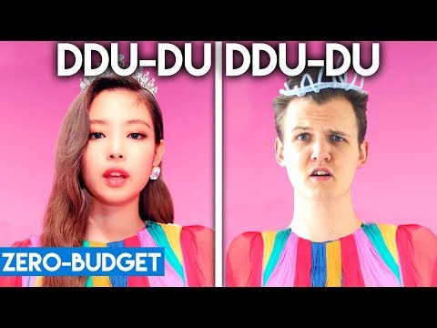 K - POP WITH  ZERO BUDGET! (BLACKPINK - 'DDU-DU DDU-DU')